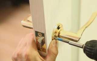 Ремонт дверных ручек межкомнатных дверей своими руками