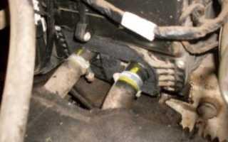 Замена радиатора печки приора цена работы