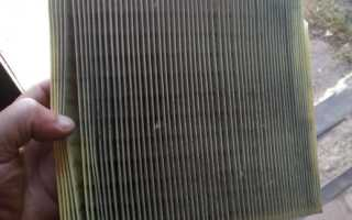 Как снять воздушный фильтр на гранте