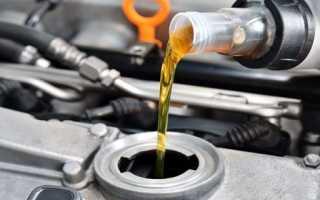 Какое масло меньше жрет двигатель