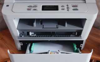 Как заменить тонер на принтере brother