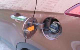 Шипение при открывании крышки бензобака