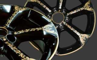 Как покрасить диски колес