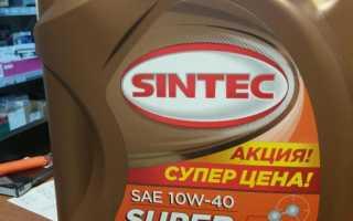 Моторное масло синтек 10w 40 отзывы