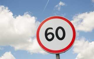Дорожные знаки ограничения скорости картинки