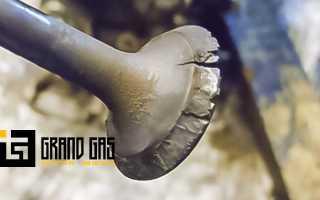 От чего прогорают клапана в двигателе