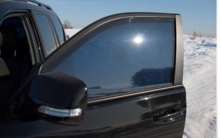 Электронная тонировка стекол автомобиля своими руками