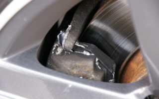 Скрип машины при торможении