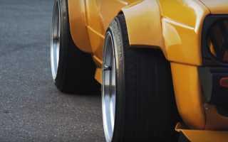 На что влияет ширина профиля шины