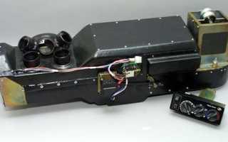 Устройство радиатора отопления автомобиля