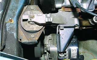 Сколько подушек двигателя на приоре 16 клапанов