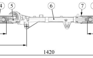 Внутренние наконечники рулевых тяг