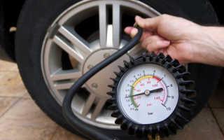 Какое нормальное давление в шинах зимой