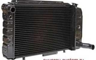 Пробил радиатор охлаждения что делать